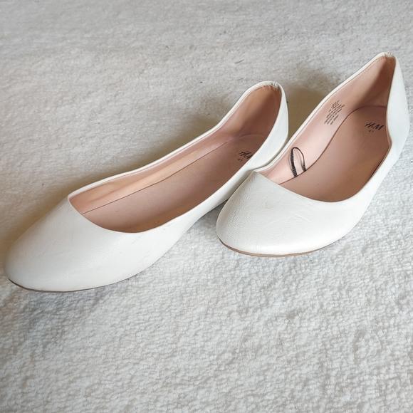 Cream Colored Flats